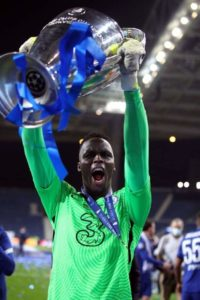 Edouard Mendy, Chelsea Goalkeeper, Wins 'Best African International' Award and Named 'Best African Goalkeeper of The Year' at the Ghana Football Awards,  3rd Edition